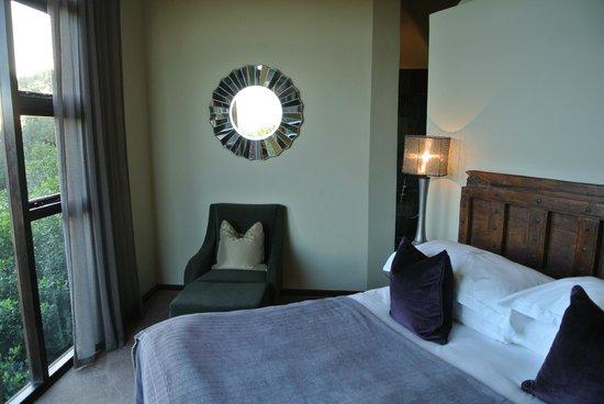 Tsala Treetop Lodge: one of the bedrooms