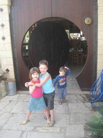 Gramboussa : Very special door
