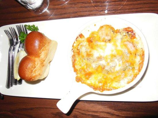 The Keg Steakhouse & Bar: Shrimp appetizer - no no