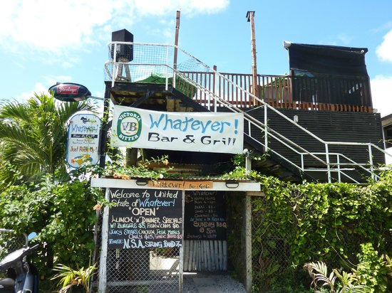 Whatever Bar and Grill: Front