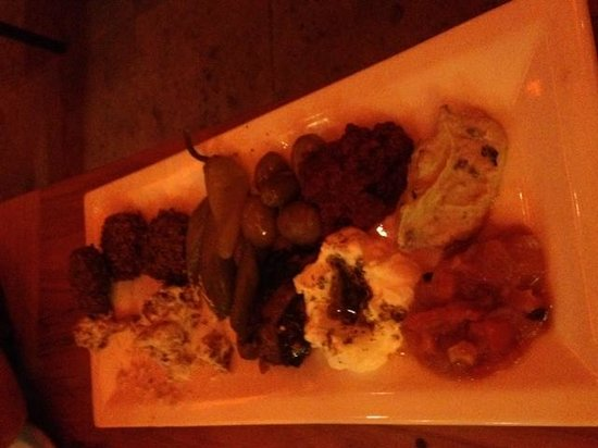 Ima Cuisine: Mezze Vegetarian Platter