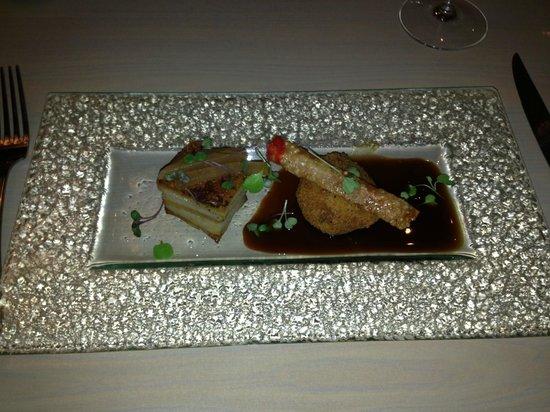 Table Restaurant: Belly Pork Appetiser