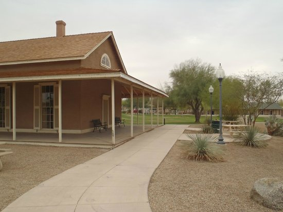 Yuma Quartermaster Depot State Historic Park: Quartermaster depot