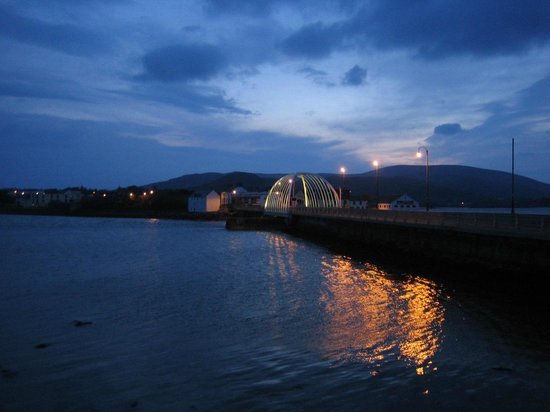 Achill Island Hotel: Twilight on the Sound of Achill