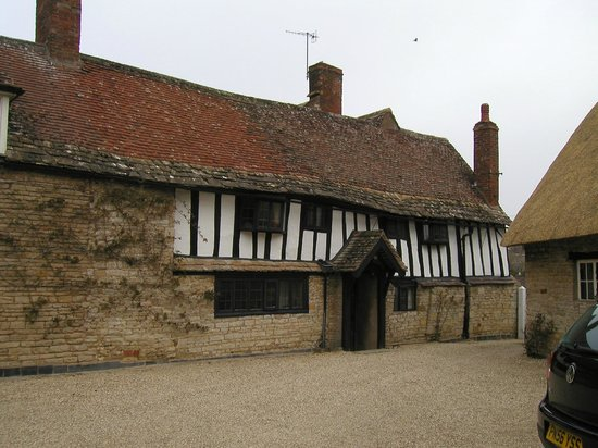 The Old Manor House: The entrance, and the rooms we had above it