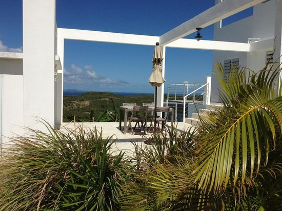 360 Vieques: Terrace