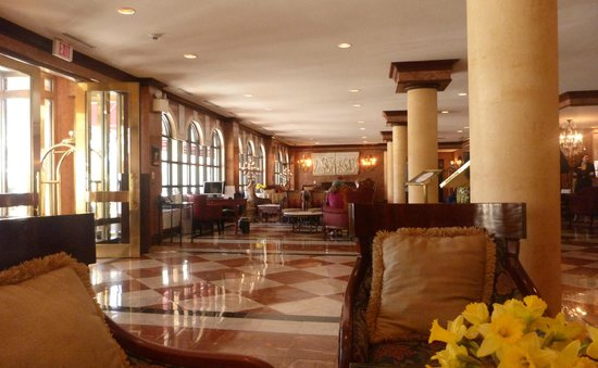 The Siena Hotel, Autograph Collection : Ornate lobby of Siena Hotel