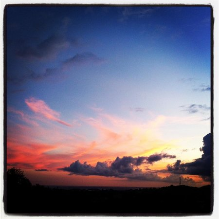 360 Vieques: Another sunset on Vieques (from the roof deck)