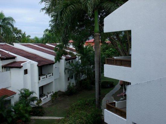 Barcelo Puerto Plata: vue d'un de nos deux balcons