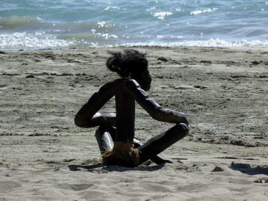 Barcelo Puerto Plata: Sculpture à vendre sur la plage