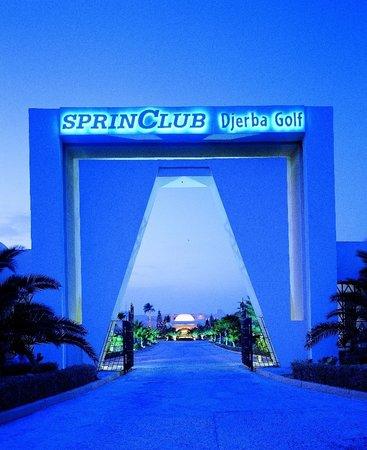 SprinClub Djerba Golf & Spa: Entrée Hotel