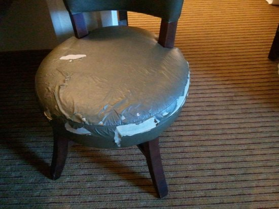 Homewood Suites by Hilton Chattanooga/Hamilton Place: Chair in room 215.  The other chair was the same.