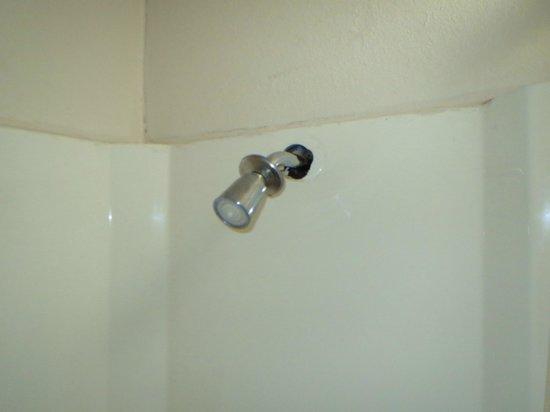 Knights Inn Pittsburgh Bridgeville : shower