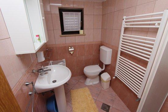 Rooms/Apartments ROMANO: app 14 bathroom