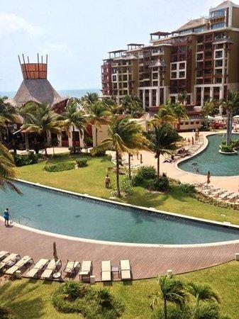 Villa del Palmar Cancun Beach Resort & Spa: the view from our balcony!
