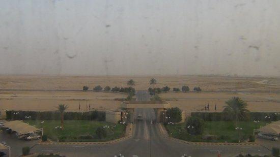 Makarim Riyadh Hotel: Dessertview from my room