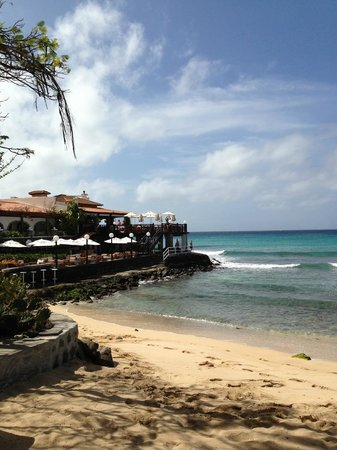 Odjo d'Agua Hotel: Private beach