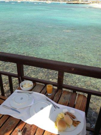 Odjo d'água Hotel: Breakfast
