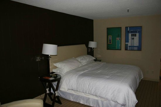Sheraton Hotel Newfoundland: King bed, very comfortable.