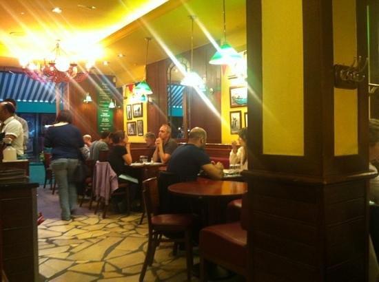 Leon de Bruxelles: the restoraunt