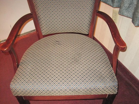 Natural Bridge Historic Hotel & Conference Center: stained chair