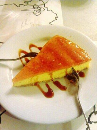 La Bodeguilla de San Roque: Tarta de queso. Espectacular.