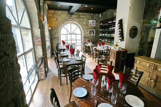 Buon Apps Italian Restaurant : Upstairs in the Restaurant