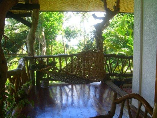 Casa Roca Inn: Big room balcony