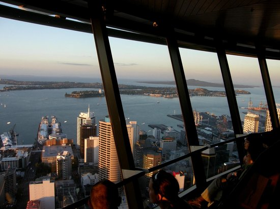 SKYCITY Hotel : View from Skytower