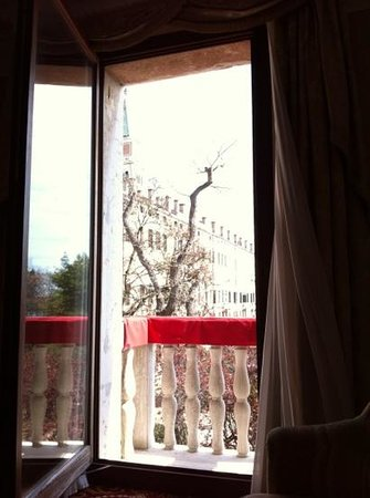 Baglioni Hotel Luna: vista da janela