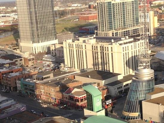 Renaissance Nashville Hotel: view from room on 20th floor