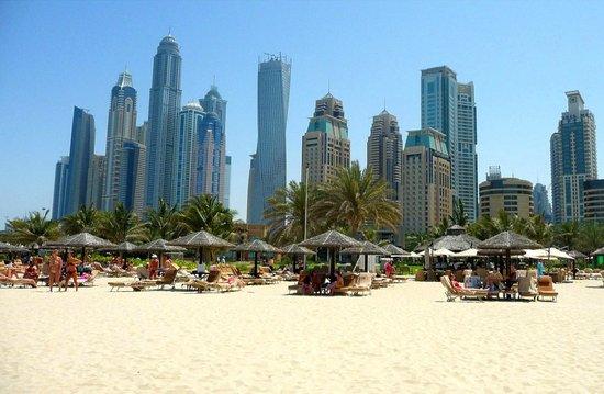 Grosvenor House Dubai: View from the beach