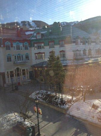 Homewood Suites Mont-Tremblant: Tremblant square