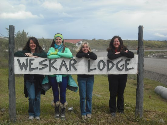 Weskar Patagonian Lodge: Arrival day