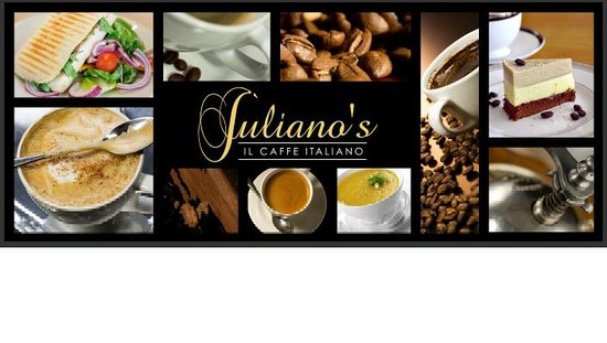 Caffe Juliano's: outside Banner