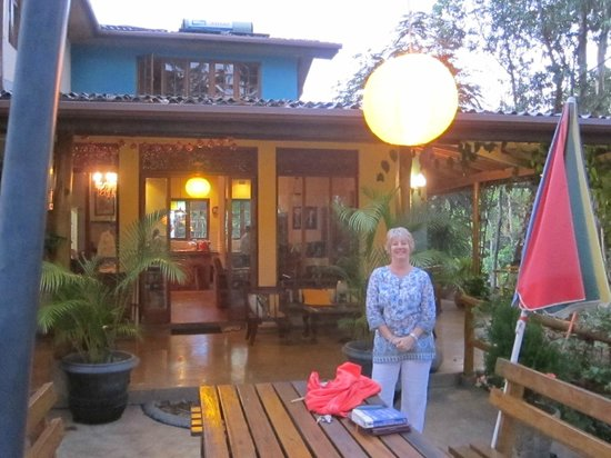 Waterfalls Homestay: On the Terrace