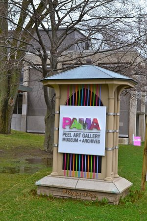 Peel Art Gallery Museum & Archive (PAMA): Welcome Sign