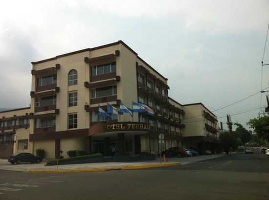 Hotel Terraza: Vista de