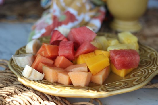 Villa Andalucia Bed and Breakfast: Fresh fruit