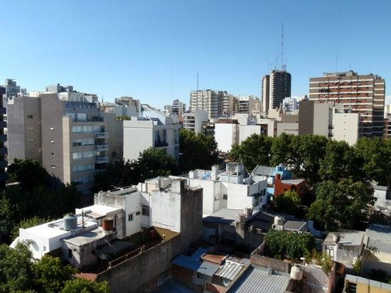 Fierro Hotel Buenos Aires: View from the roof top pool