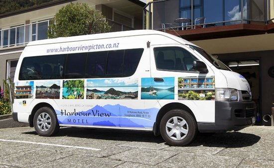 Harbour View Motel Picton: Free Shuttle service from 6am - 8pm daily