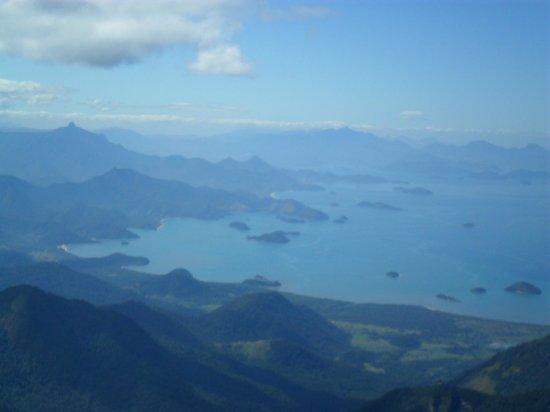 Cunha, SP: O mar (lado de Angra dos Reis)