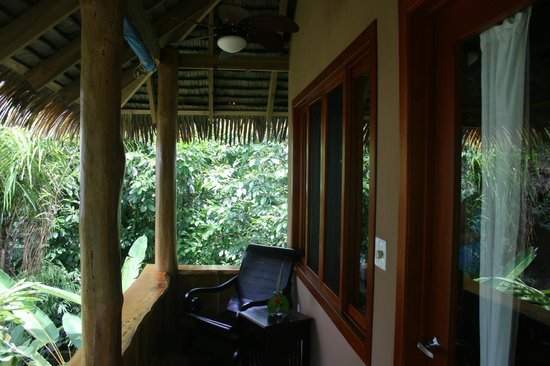 Copa de Arbol Beach and Rainforest Resort: Balcony