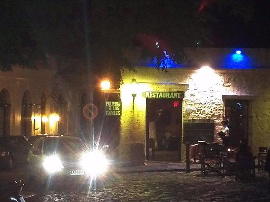 Pulperia de los Faroles : Frente do restaurante