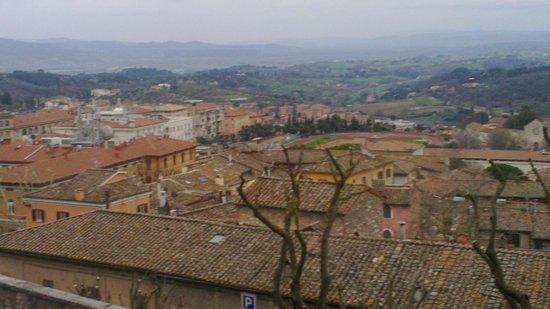Hotel Signa: Vista desde Perugia