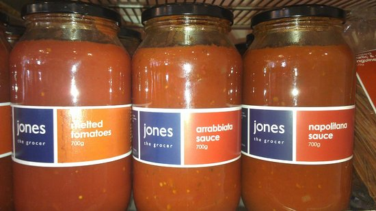 Jones the Grocer: Tomato Sauces