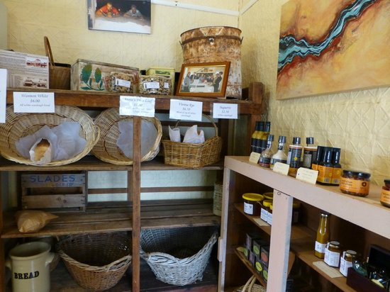 Dunkeld Old Bakery Selection Of Bread And Preserves