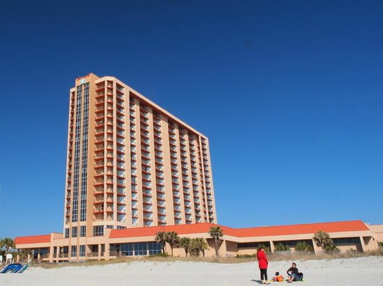 Embassy Suites by Hilton Myrtle Beach-Oceanfront Resort: Hotel from Beach