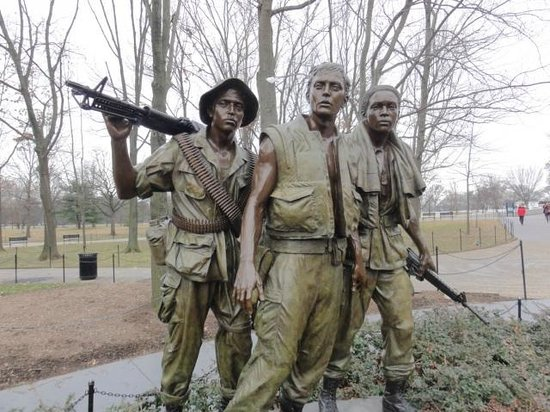 Korean War Veterans Memorial : Statue