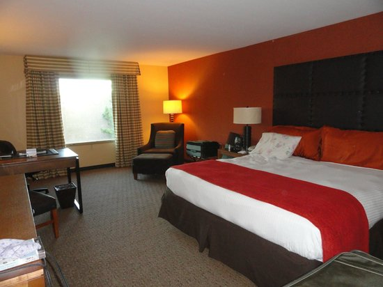 Tempe Mission Palms Hotel and Conference Center: Our room was very clean and in good condition.